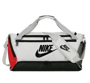 Nike Basic Training Gym Travel Bag - Black / Grey / Red / Green - Clearance