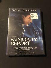 New Minority Report (Dvd, 2003, Widescreen) Tom Cruise. Free Shipping