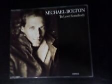 CD SINGLE - MICHAEL BOLTON - TO LOVE SOMEBODY