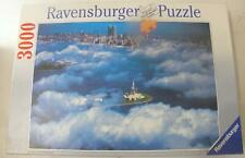 RAVENSBURGER 3000 PIECE PUZZLE SEA OF CLOUD OVER NEW YORK*TWIN TOWERS*LIBERTY