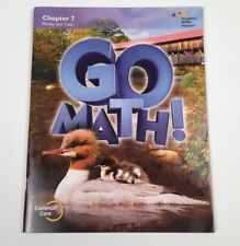 Go Math!: Student Edition Chapter 7 - Grade 2. Pub. 2015 - Like New