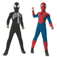 Marvel Ultimate Spider-Man Venom 2-in-1 Reversible size L 12/14 Muscle Chest
