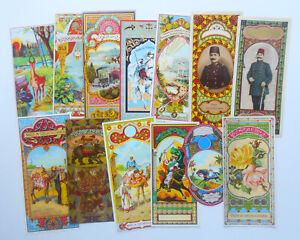 13 Original Vintage Fez Labels