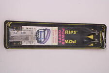 Power Grips Black Standard Pedal Straps Pair Nos USA Made Bicycle MTB