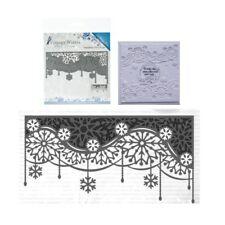 Snowflake Swirl Edge Metal Die Cut Vintage Winter Cutting Dies Amy Design Border