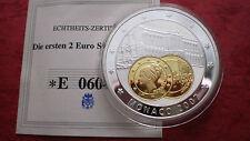 """Erstabschlag der seltenen 2 Euro Münze MONACO """"GRACE KELLY"""" 2007 !"""