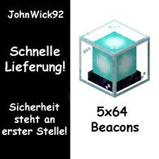5x 64 Beacons / Griefergames / Schnell und Sicher / JohnWick92