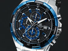 Casio Watch Edifice Chronograph Silver Mens Efr-539d-1a2