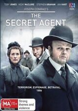 """Viewed Once """"THE SECRET AGENT"""" (DVD, 2016)"""