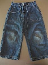 Jeans Hose Gr.110, Blau, Taschen, NGS authentic, Bindegürtel, bequem