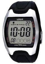 NB Lorus Gents Digital/Chronograph Resin Strap Watch R2327CX9-LNP