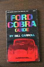 Ford Cobra Guide, by Bill Carroll (1977, Paperback)