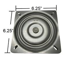"Bar Stool Swivel Plate - 6.25"" - Made in USA - S4695"