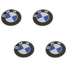 4 GENUINE Wheel Center Emblem Sign Logo Hub Cap Set for BMW 1 3 5 6 7 Series