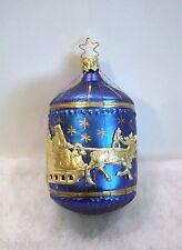 Old World Christmas Inge Glass Ornaments Christmas Eve NEW