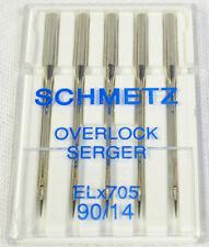 Schmetz Aguja Surtido Stretch//Jeans//Sistema Universal//130//705H//30/agujas