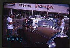 1961 amateur kodachrome photo slides Antique Car show  Indiana