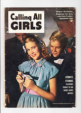 """Calling All Girls  No.34  : 1944 :   : """"Judy Wing"""" Story Inside :"""