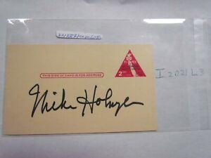 Mike Holmgren signed PostCard