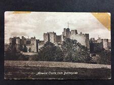 RP Vintage Postcard - Northumberland #8 - Alnwick Castle From Barneyside