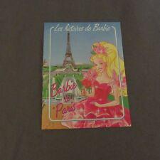 838E Catalogue 12 Pages Barbie à Paris Mattel
