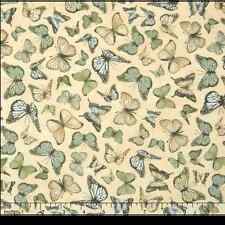Quilting Treasures Mirabelle Butterflies 100% cotton Fabric Remnant 29""