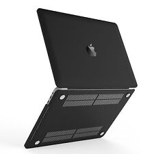 [New Outlet] Frosted Black Flexible Hard Case for Macbook Pro 13inch A1706 /1708