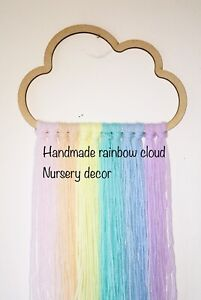 Nursery Decor Rainbow Cloud