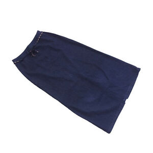 Mcm Skirts Navy Woman Authentic Used F667