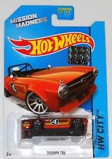 2014 HOT WHEELS FACTORY SET CITY TRIUMPH TR6 LIMITED TO 450 MISSION MADNESS