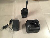 Icom IC-F50 Two Way Radio VHF Transceiver Radio Antenna Battery Charger