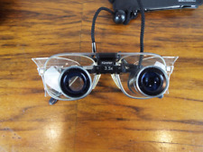 """Keeler Surgical Loupes 3.5 X Lenses 13"""" Hospital Theater Instrument Made In UK"""