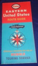 BS631 Imperial Oil Co. Eastern United States Road Map Undated