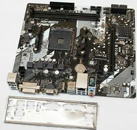R2.0 ASRock Micro ATX DDR3 2400 FM2 Motherboard FM2A58M-VG3