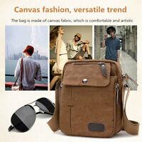 Men Sport Crossbody Bag Pack Canvas Casual Shoulder Bag Handbag Pouch Messenger