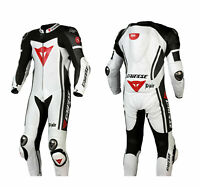 New MotoGp Motorbike Suit Motorcycle Racing Leather Suit 1 or 2 Piece All Sizes