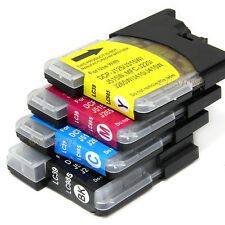 20x LC39 LC985 Ink Cartridges For Brother DCP J125 J315W J515W MFC J220 Printer