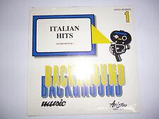 OVP NEU 5 St LP Background Music Nr. 1, 2, 3, 6, 8  Ariston Milan Italy Sound FX