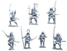 Samurai Toys soldiers Plastic 7pcs Height 2.51-2.76 inch