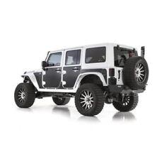 Smittybilt 76994- Magnetic Body Protectors, Mag Armor, PVC, Matte Black, Jeep