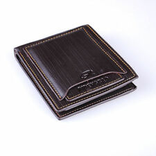 New Stylish Men's PU Leather Wallet Pocket Card Clutch Bifold Purse wallet