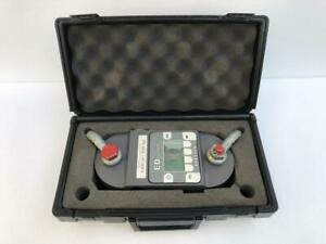 DILLON ED JUNIOR DIGITAL LOAD CELL DYNAMOMETER 5000 LBF/ 2000 KGF CAPACITY