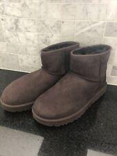 Women's UGG Classic Mini II Chocolate Brown Boots- size 11- #1016222