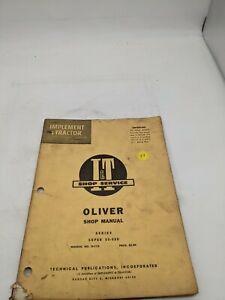 Oliver 55-550 O-11A   I&T Service Repair Manual