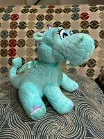 Disney Sophia the First Cartoon Crackle the Dragon Blue Plush Stuffed Animal