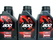 3x 1Liter Motul 800 2T Öl Motoröl Factory Line Road Racing 2Takt Motorenöl
