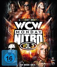 GOLDBERG/HOGAN,HULK STING/HART-THE VERY BEST OF WCW NITRO VOL.3 2 BLU-RAY NEW