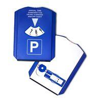 Auto Parkscheibe Parkuhr Eiskratzer mit Einkaufchip Profiltiefenmesser Park Disk