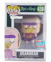 New Funko Pop Rick And Morty Gearhead #438 Nycc Shared Exclusive In Hand