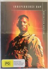 Independence Day: Definitive Edition (DVD 2007 (Will Smith) Region 4, Rated PG
